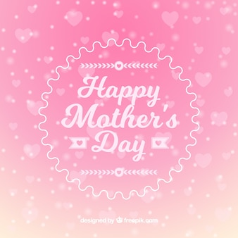 Pink mothers day background