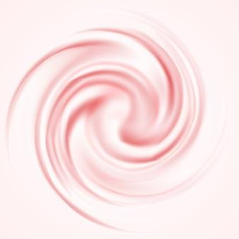 ピンクのムースの背景