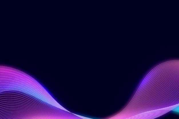 Rosa neon synthewave modellato sfondo