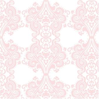 Pink ornamental pattern background