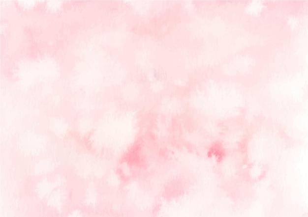 수채화와 핑크 파스텔 추상 질감 배경