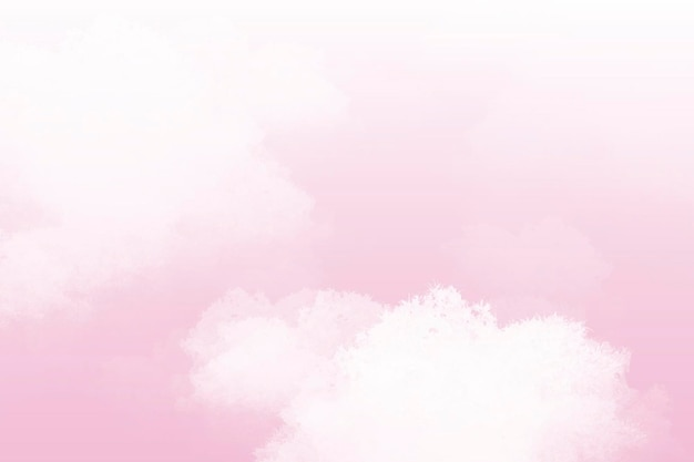 Pink pastel sky abstract background vector