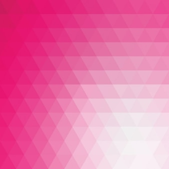 Pink polygonal background design