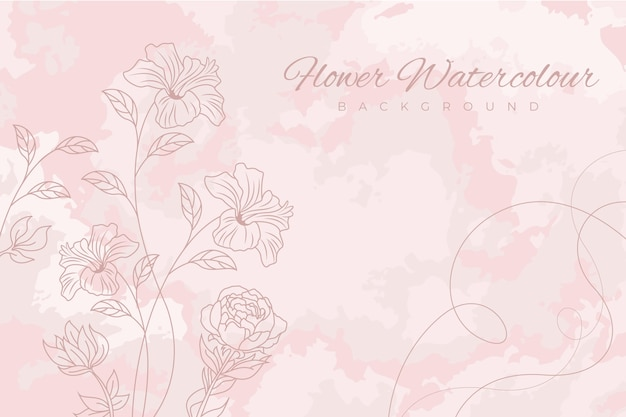Pink powder pastel background