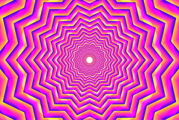 Pink psychedelic optical illusion background