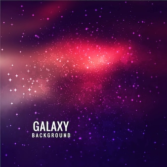 Pink and purple galaxy background