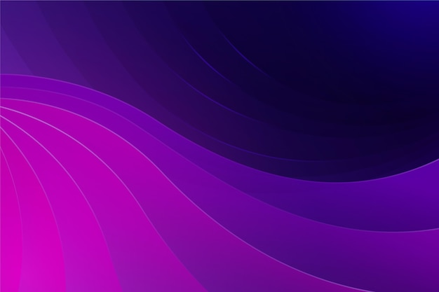 Pink and purple shades wavy background