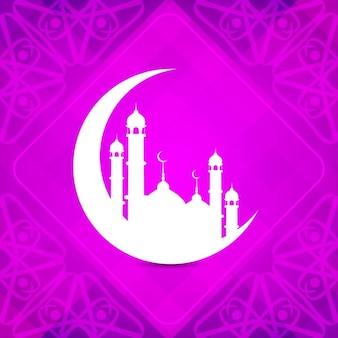 Pink ramadan background
