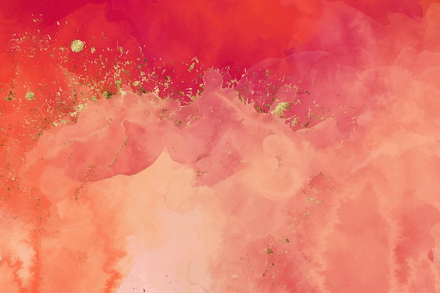 Розовый красный блеск акварель фон
