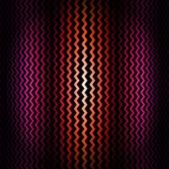 Pink and red zigzag background