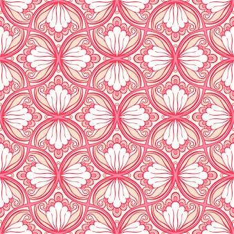 Розовое ретро в плоском дизайне