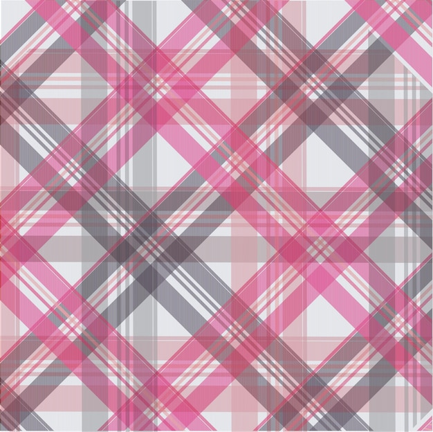 Розовый узор скотта фон, текстура ткани
