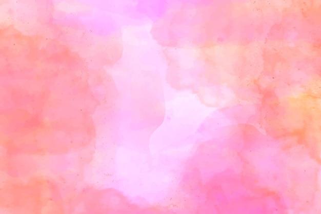 ピンクの色合いの抽象的な水彩画の背景