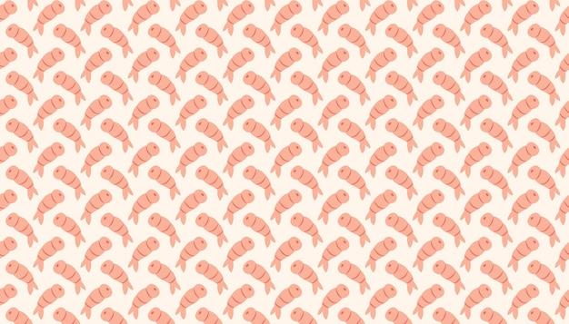 핑크 새우 해산물입니다. 일식, 중식 배달. 패턴, 질감, 배경, 배너입니다.