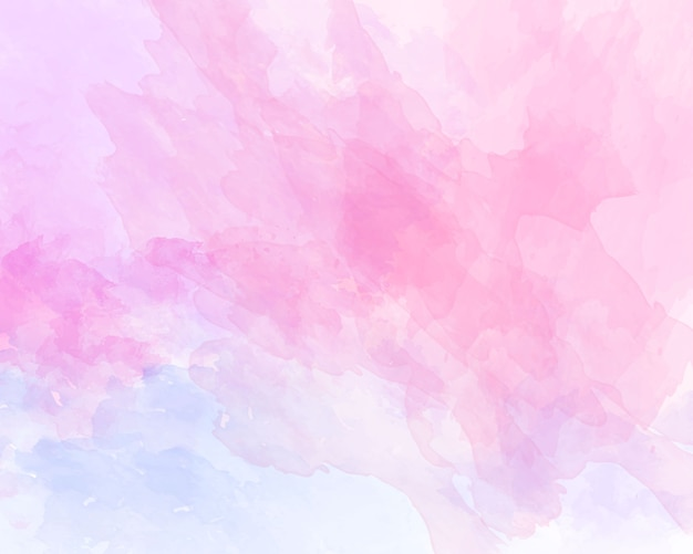 Pink soft watercolor abstract texture.