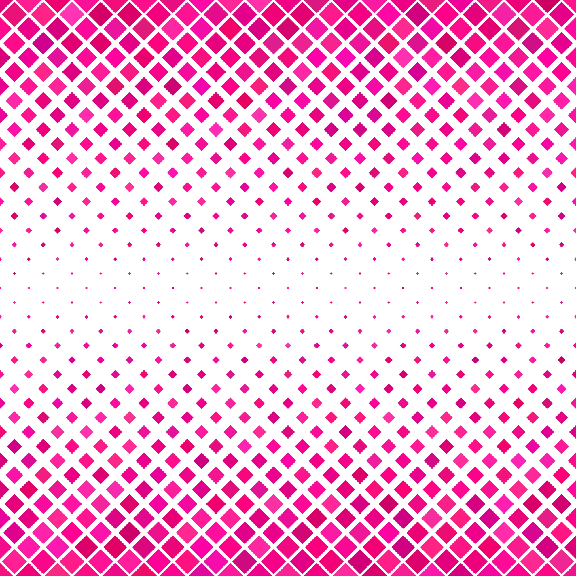 Pink square pattern background - geometrical vector design