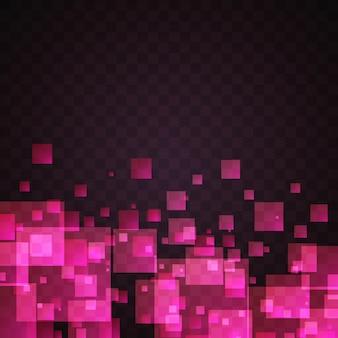 Розовый квадрат абстрактный фон