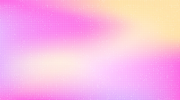 핑크 기술 배경, 하이테크 디지털 및 통신