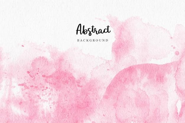 ピンクの水彩抽象的な背景