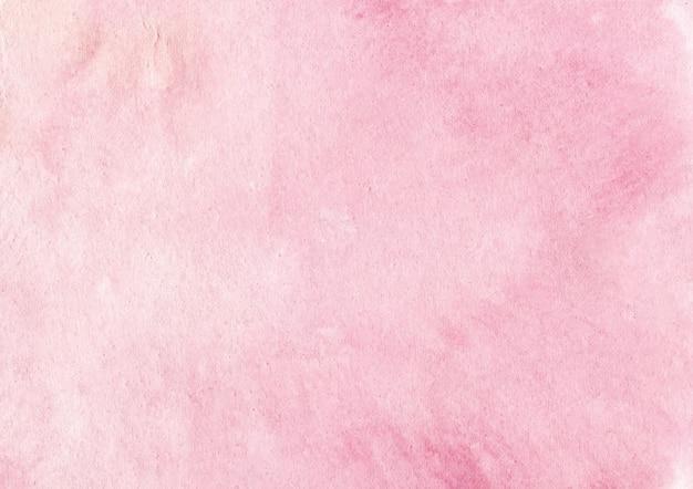 ピンクの水彩画backgorund