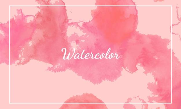 Pink watercolor background templates.