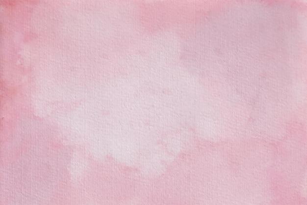 ピンクの水彩パステル背景テクスチャ