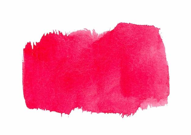 핑크 수채화 질감과 개요