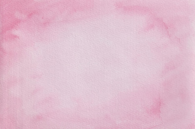 ピンクの水彩テクスチャの背景