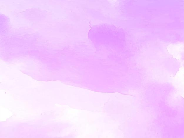 Pink watercolor texture design background vector
