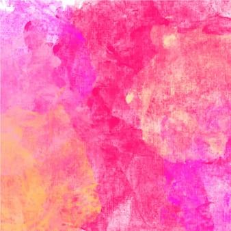 Sfondo rosa acquerello