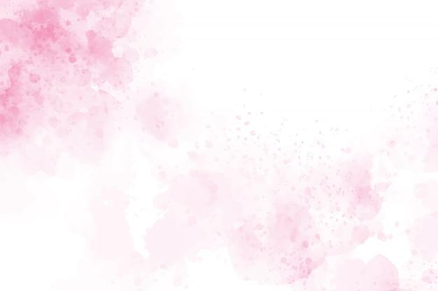 Розовый акварель всплеск фон