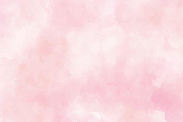 핑크 수채화 젖은 세척 시작 배경