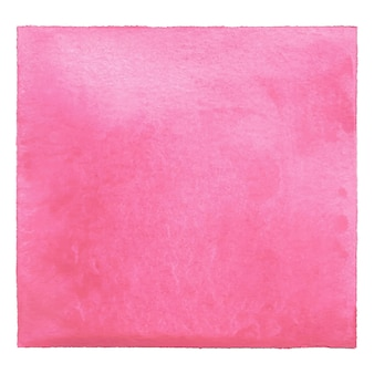 Pink watercolor on white background