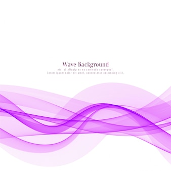 Pink wave flowing design background