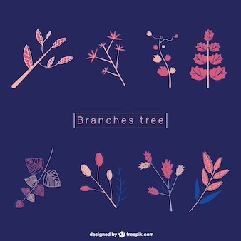 Pinky branches
