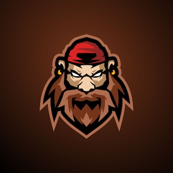 Логотип пиратского киберспорта
