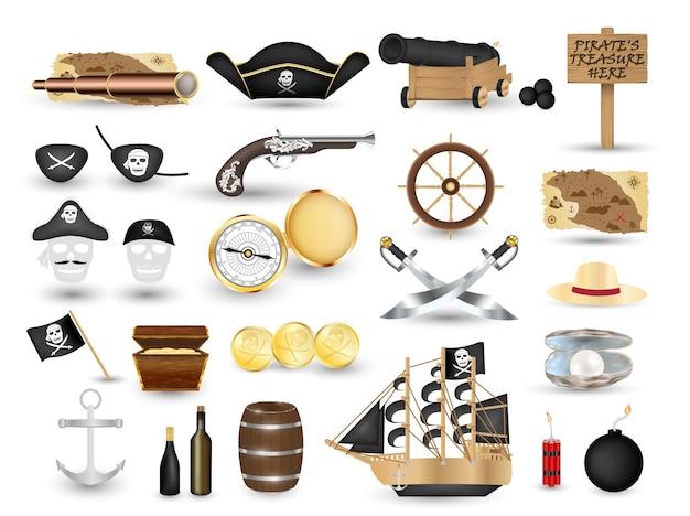 Pirate object set