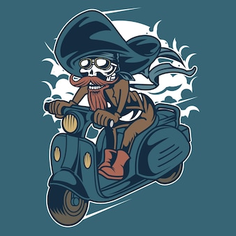 Pirate scooter