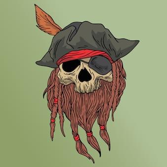 海賊の頭蓋骨