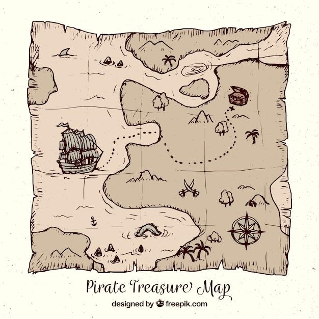 treasure map vectors photos and psd files free download rh freepik com treasure map vector download treasure map vector free