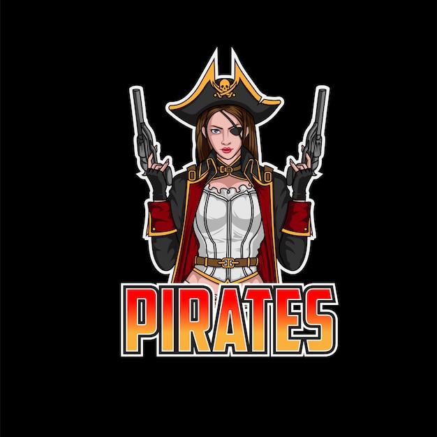 Логотип pirates esport