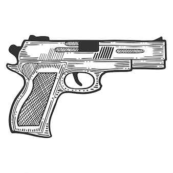 Pistol, firearm for protection