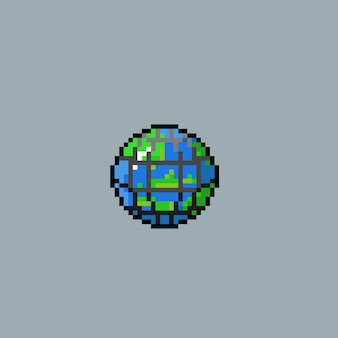 Neと地球のピクセルアート