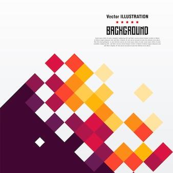 Pixel background banner vector illustration