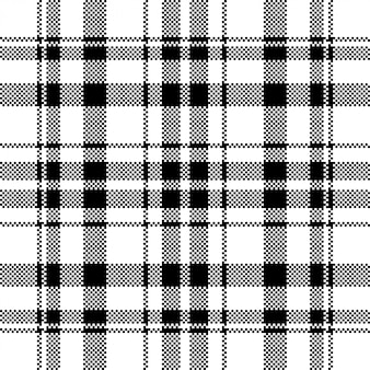Pixel background design. modern seamless pattern plaid. square texture fabric. tartan scottish textile. beauty color madras ornament.