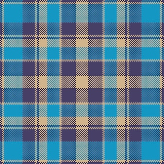 Pixel background  . modern seamless pattern plaid. . tartan scottish textile. beauty color madras ornament.