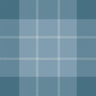 ピクセル背景ベクトルデザイン。モダンなシームレスパターンのチェック柄。スクエアテクスチャ生地。タータンチェックのスコットランドのテキスタイル。美しさの色のマドラス飾り。