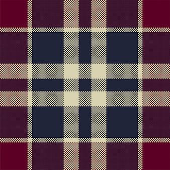 ピクセル背景ベクトルデザイン。モダンなシームレスパターンの格子縞。