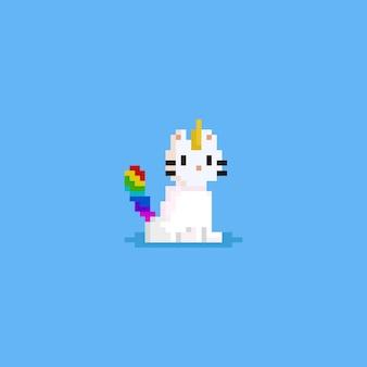 Pixel catnicorn