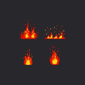 Pixel fire set